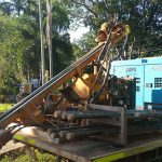 Thrust boring machine provided by Courtsea - Courtsea Pty Ltd Howard Springs, NT